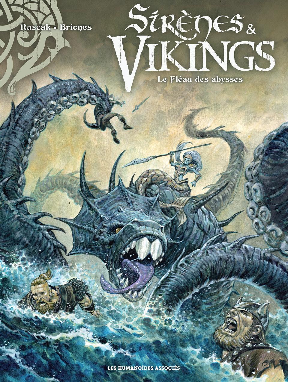 Sirènes et vikings 1 - Le fléau des abysses