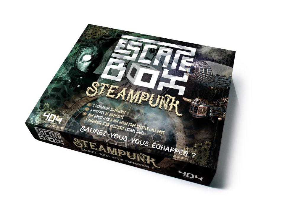 Escape Box - Steampunk 0