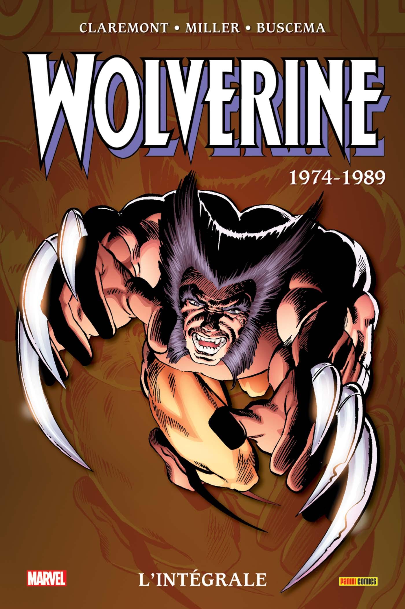 Wolverine 1974 - 1974-89 - Rééditions 2020
