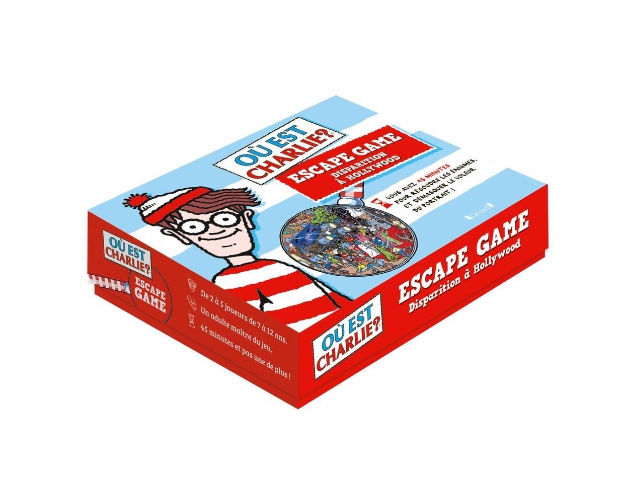 Escape Box - Où est charlie ? 0