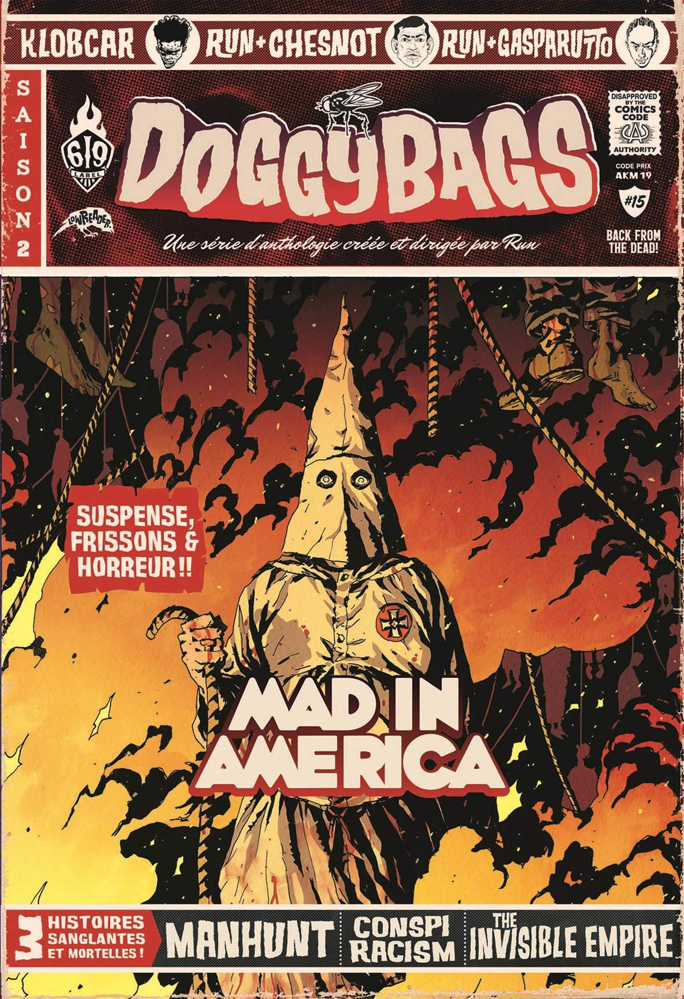 Doggybags 15 - Mad in America