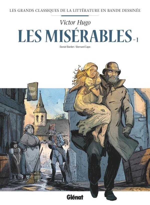 Les Grands Classiques de la littérature en Bande Dessinée 12 - Les misérables 1/2