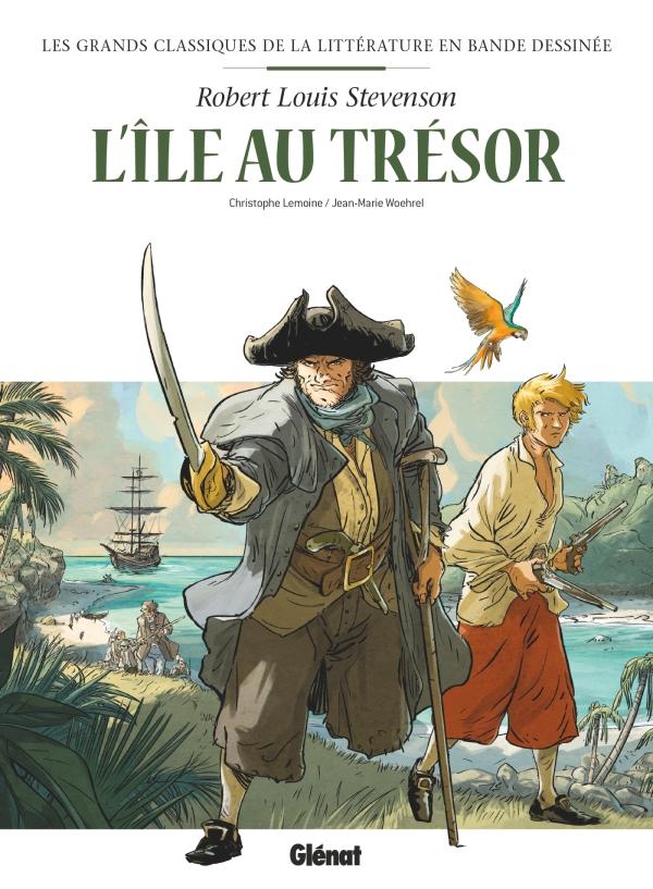 Les Grands Classiques de la littérature en Bande Dessinée 1 - L'île au trésor