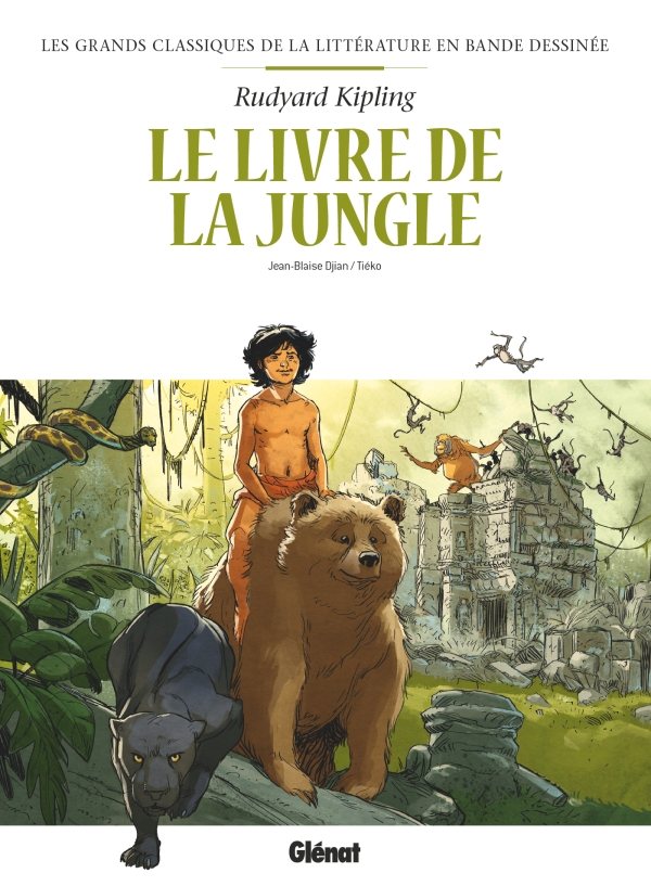 Les Grands Classiques de la littérature en Bande Dessinée 5 - Le livre de la jungle