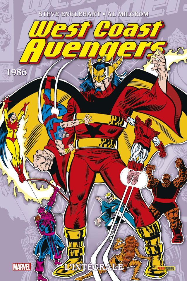 West Coast Avengers 1986 - 1986
