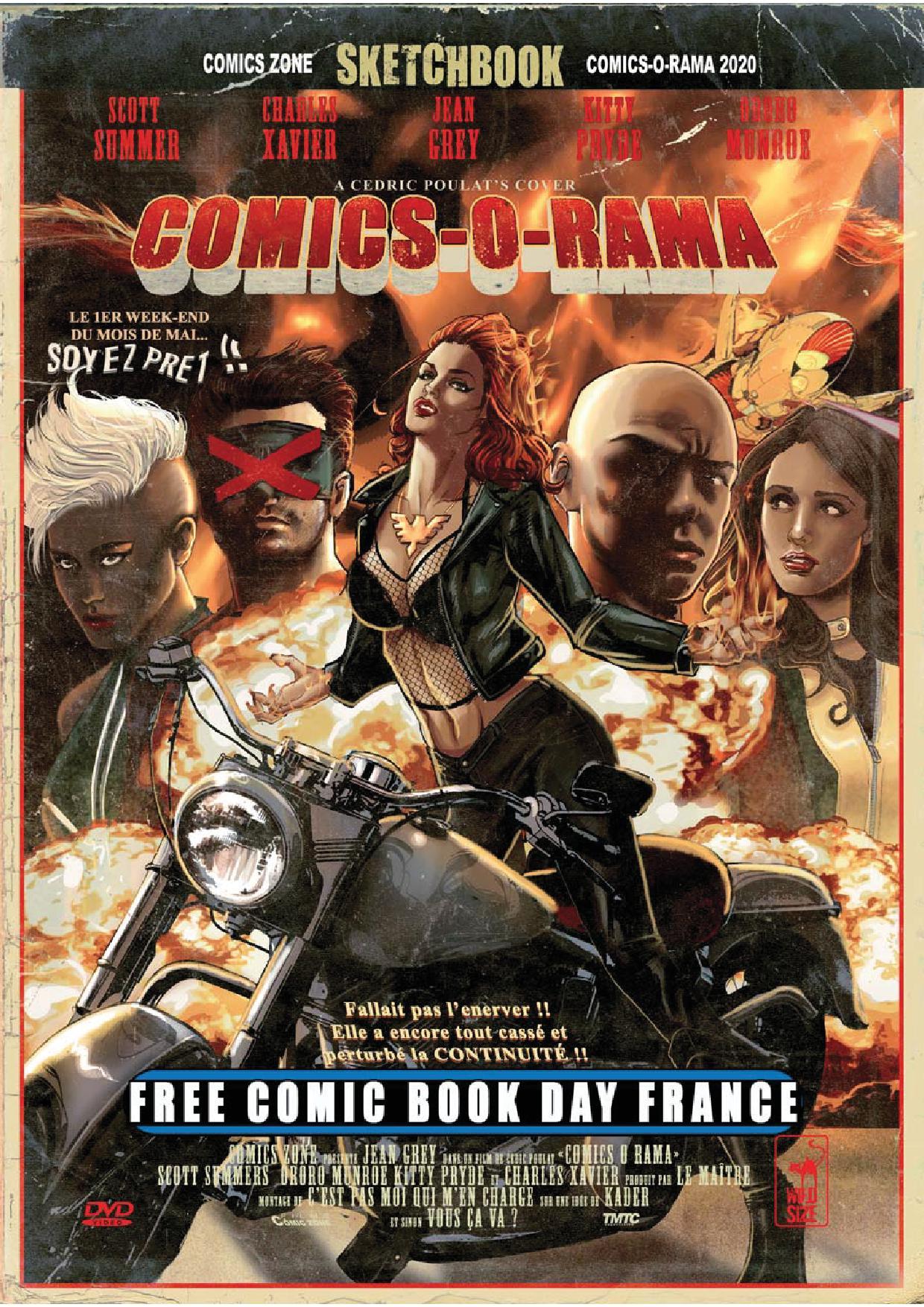 Free Comic Book Day France 2020 - Comics-O-Rama 1