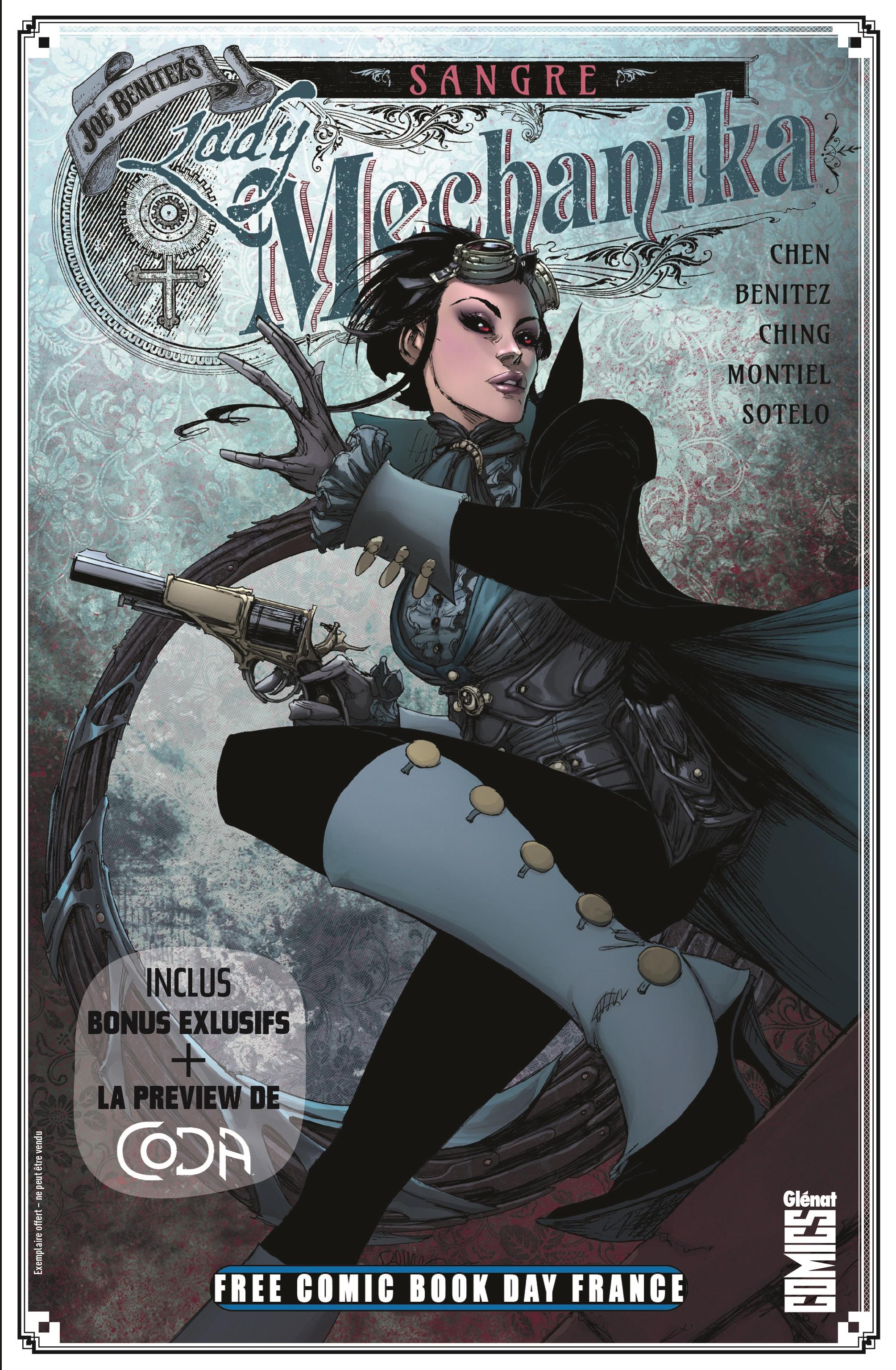 Free Comic Book Day France 2020 - Lady Mechanika : Sangre 1