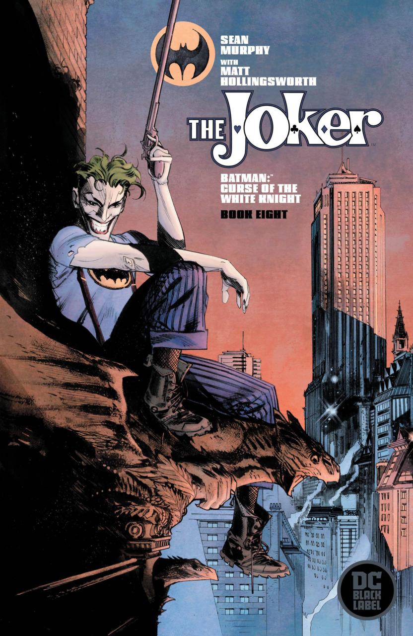 Batman - Curse of the White Knight 8 - Book Eight - The Joker variant