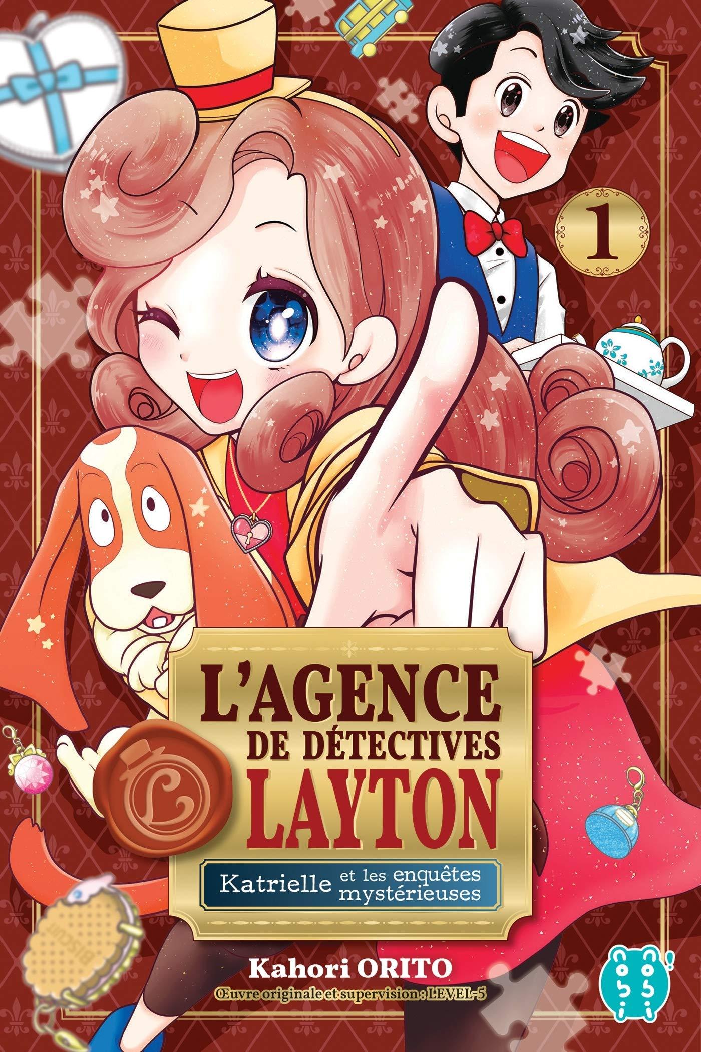 L'agence de détectives Layton - Katrielle et les enquêtes mysterieuses 1