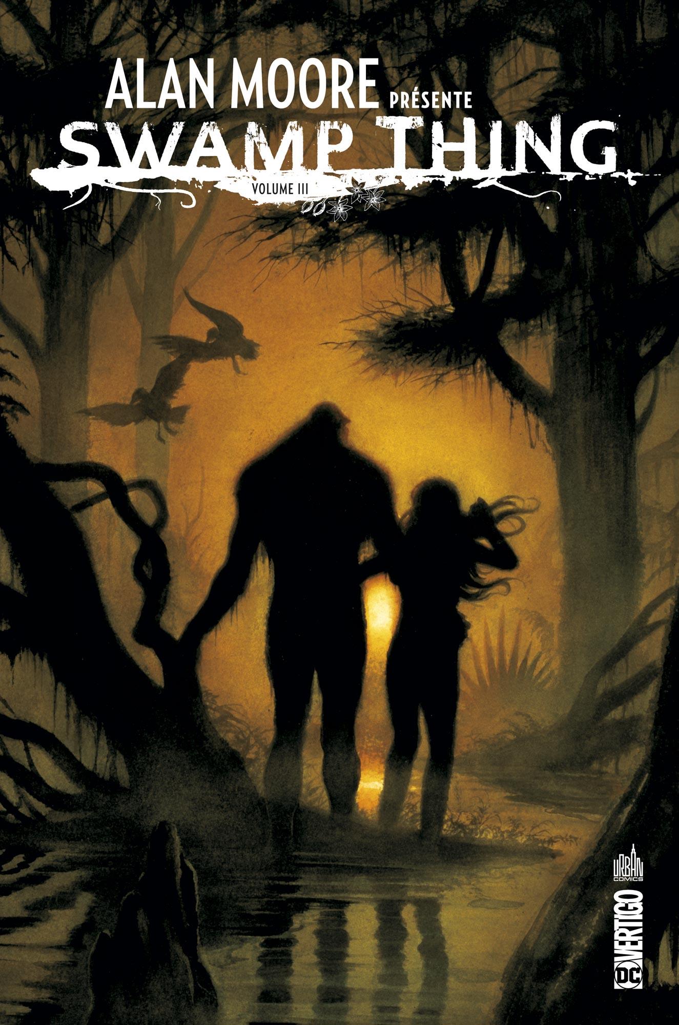 Alan Moore présente Swamp Thing 3