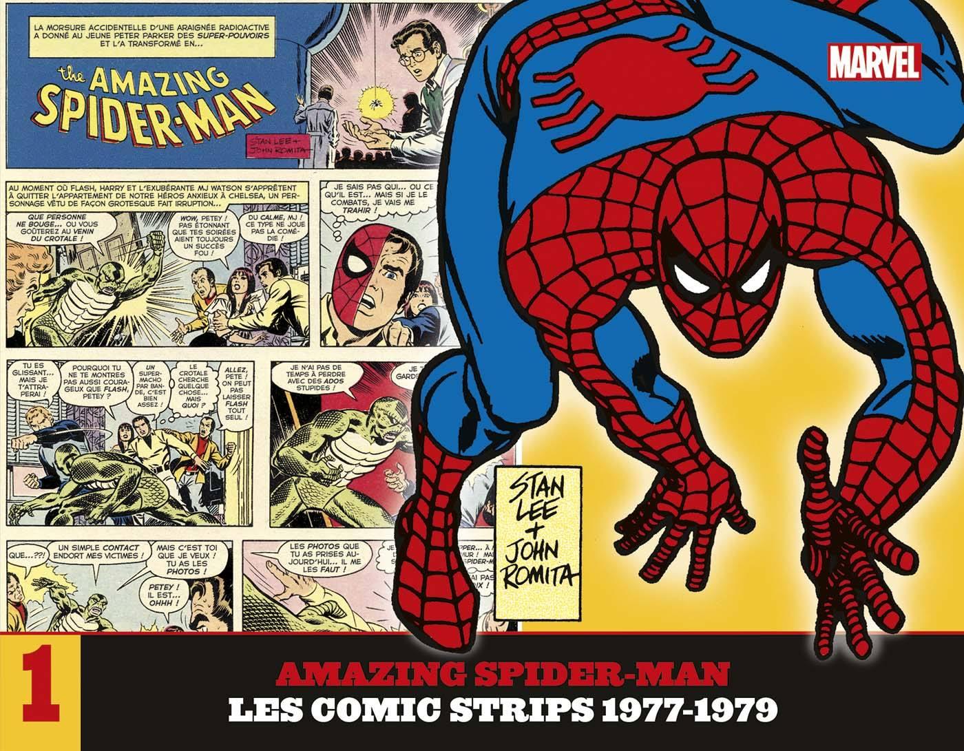 Amazing Spider-Man - Les comic strips 1 - 1977-1979