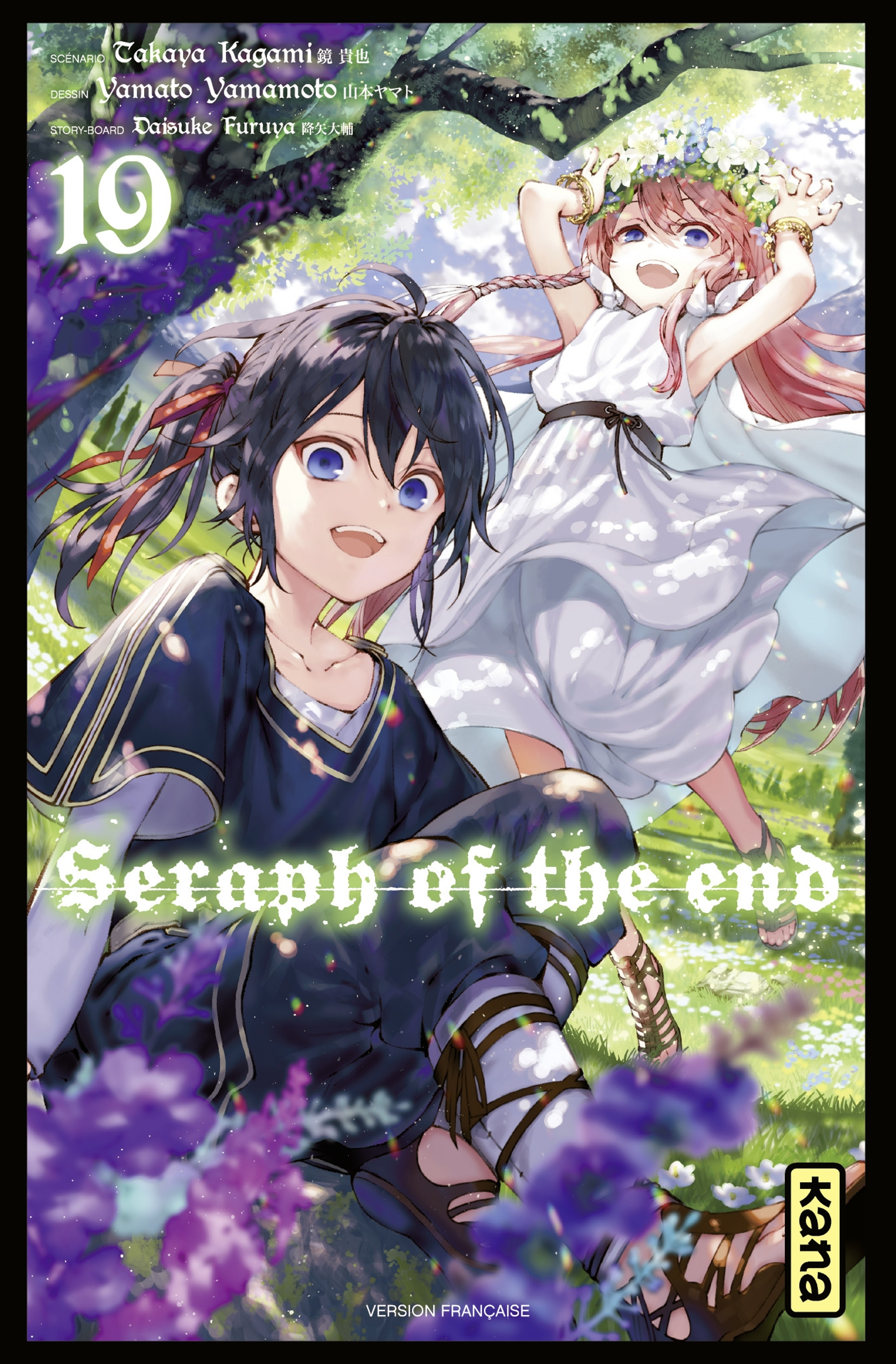 Seraph of the end 19