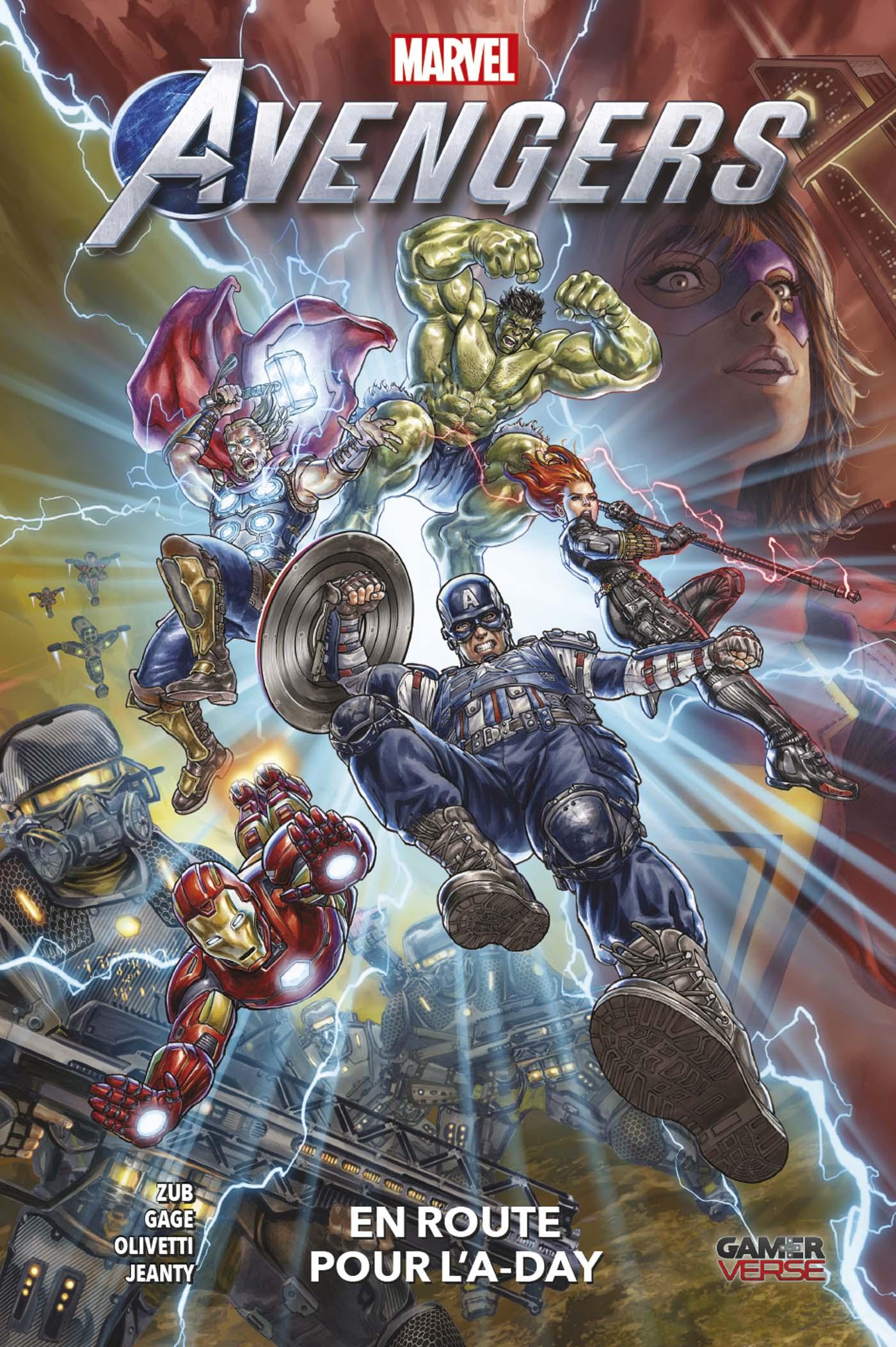 Avengers - En route pour l'A-Day 1
