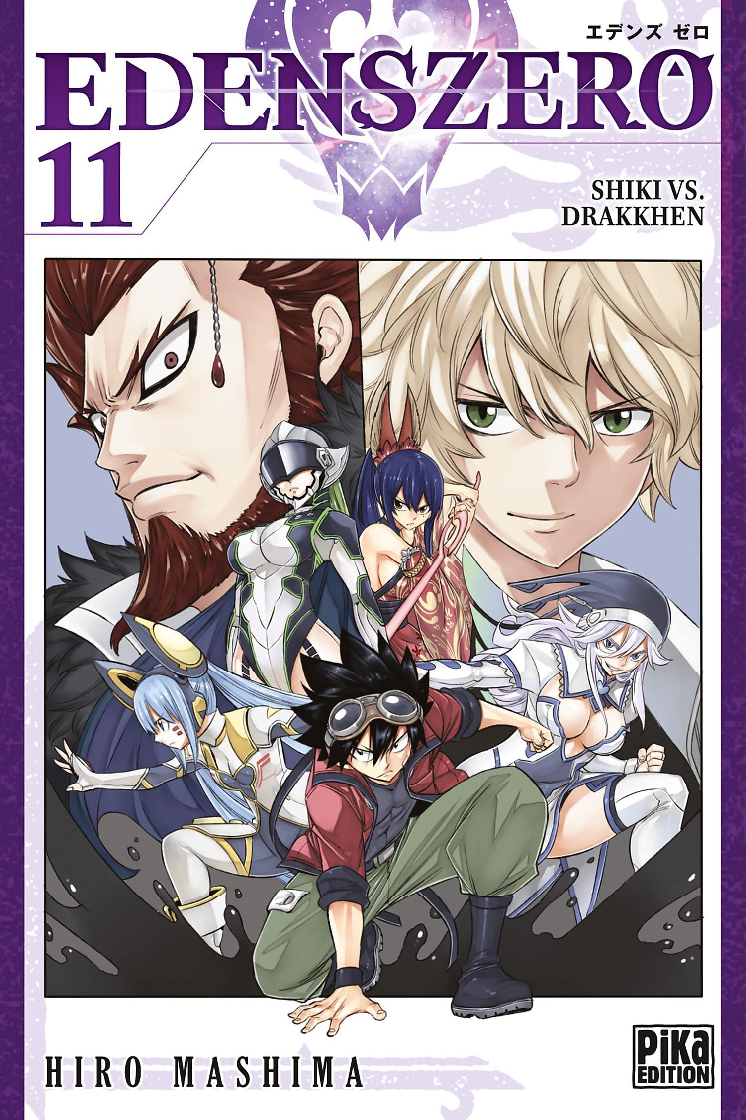 Edens Zero 11 - Shikki vs. Drakkhen