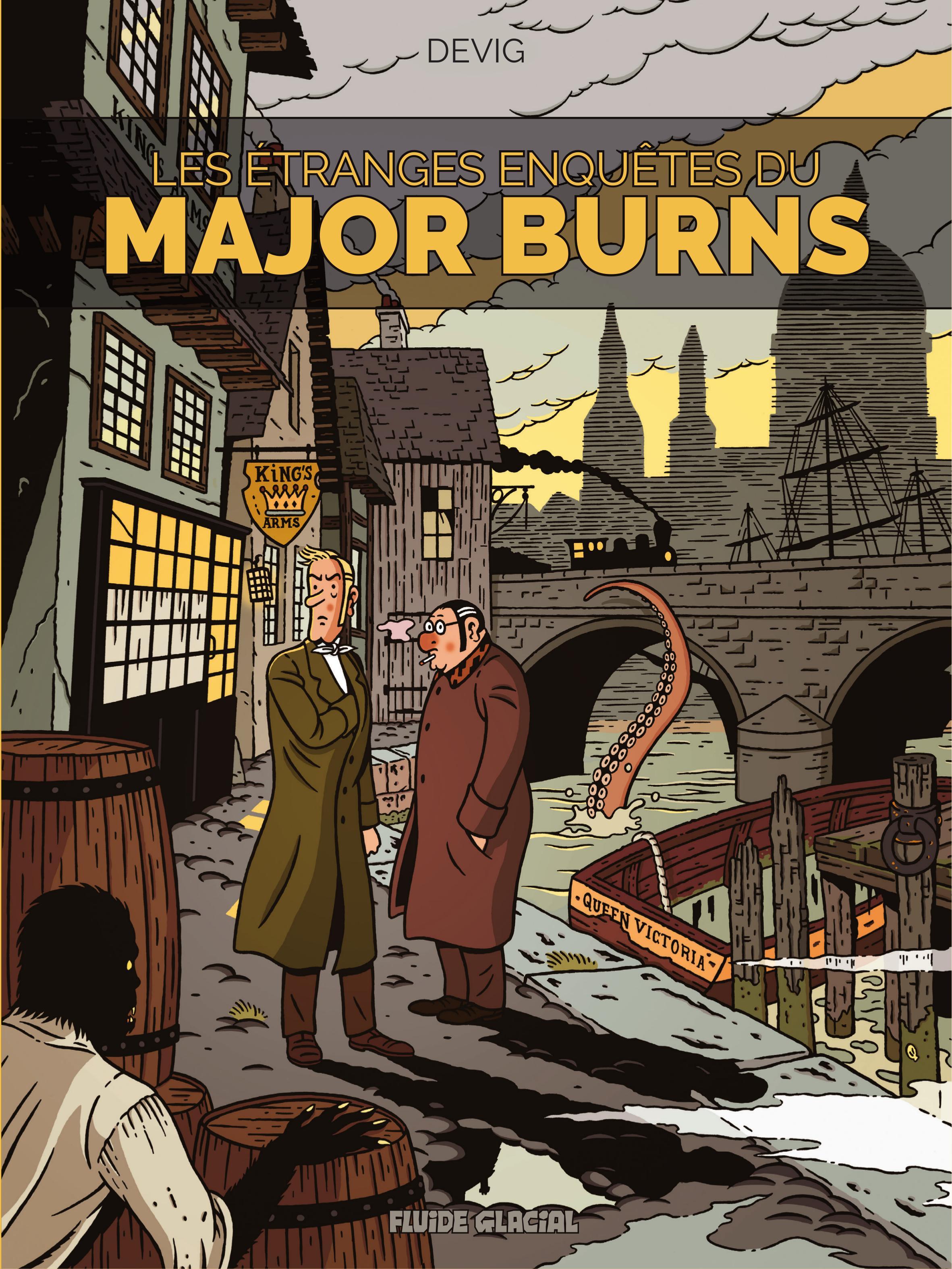Les étranges enquêtes du Major Burns 1 - Les étranges aventures du Major Burns