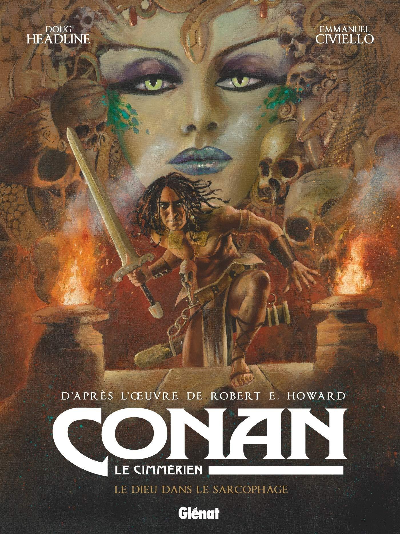 Conan le Cimmérien 11 - Le dieu dans le sarcophage