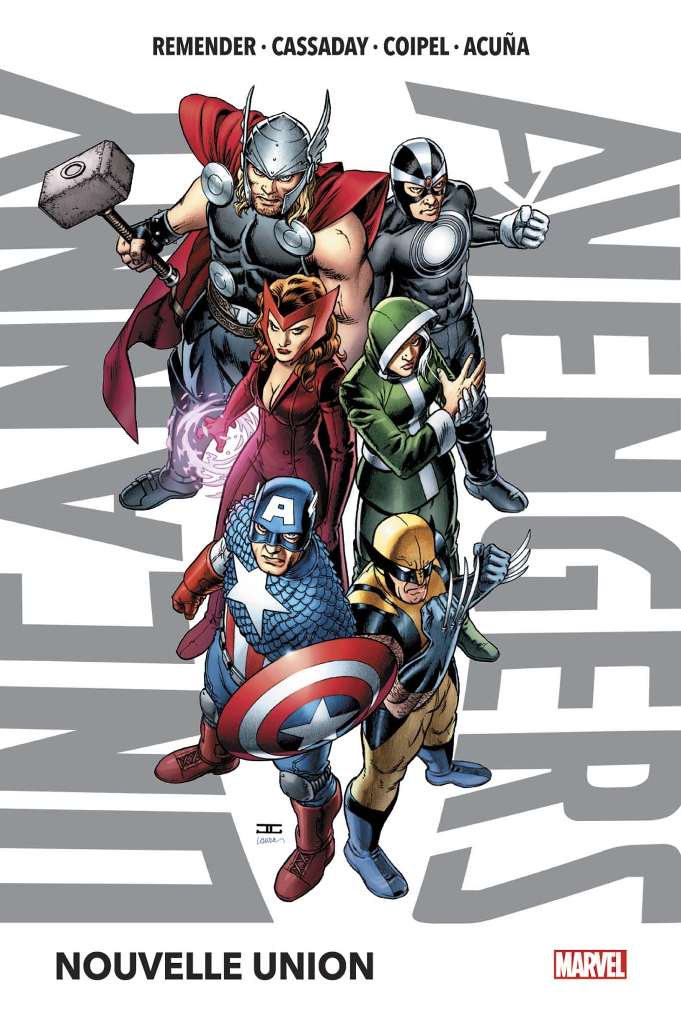 Uncanny Avengers 1 - Nouvelle union