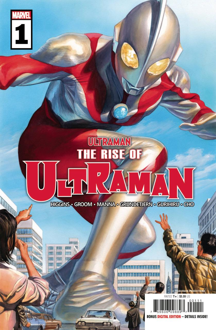 The rise of Ultraman 1