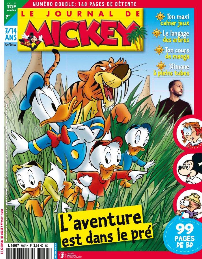 Le journal de Mickey 3557 - L'aventure est dans le pré