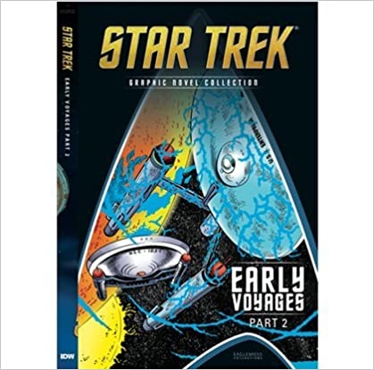 Star Trek Graphic Novels Collection 18 - early voyage part 2