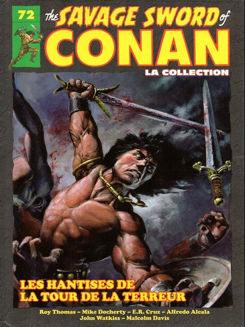 The Savage Sword of Conan 72 - Les hantises de la tour de la terreur