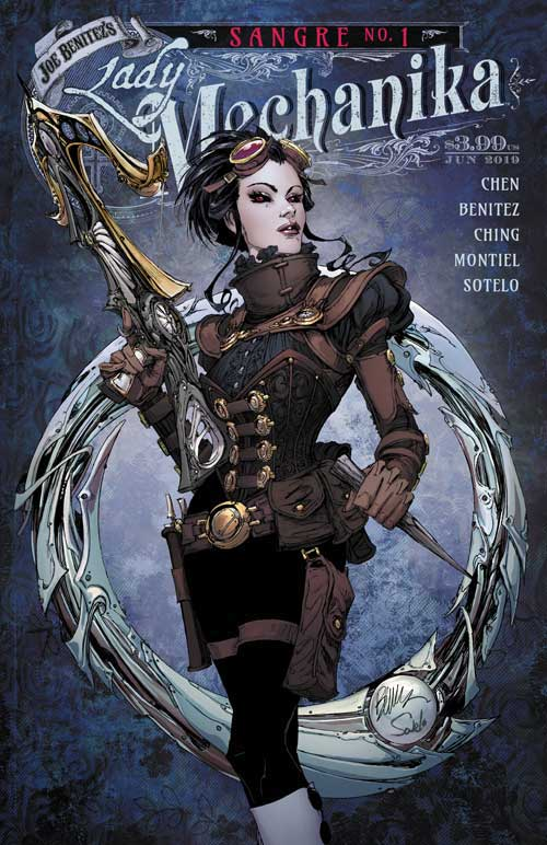 Lady Mechanika - Sangre 1