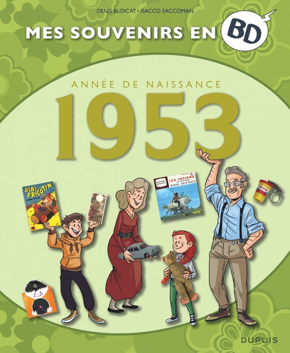 Mes souvenirs en BD 14 - Année de naissance 1953
