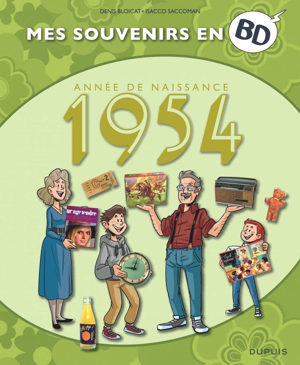 Mes souvenirs en BD 15 - Année de naissance 1954