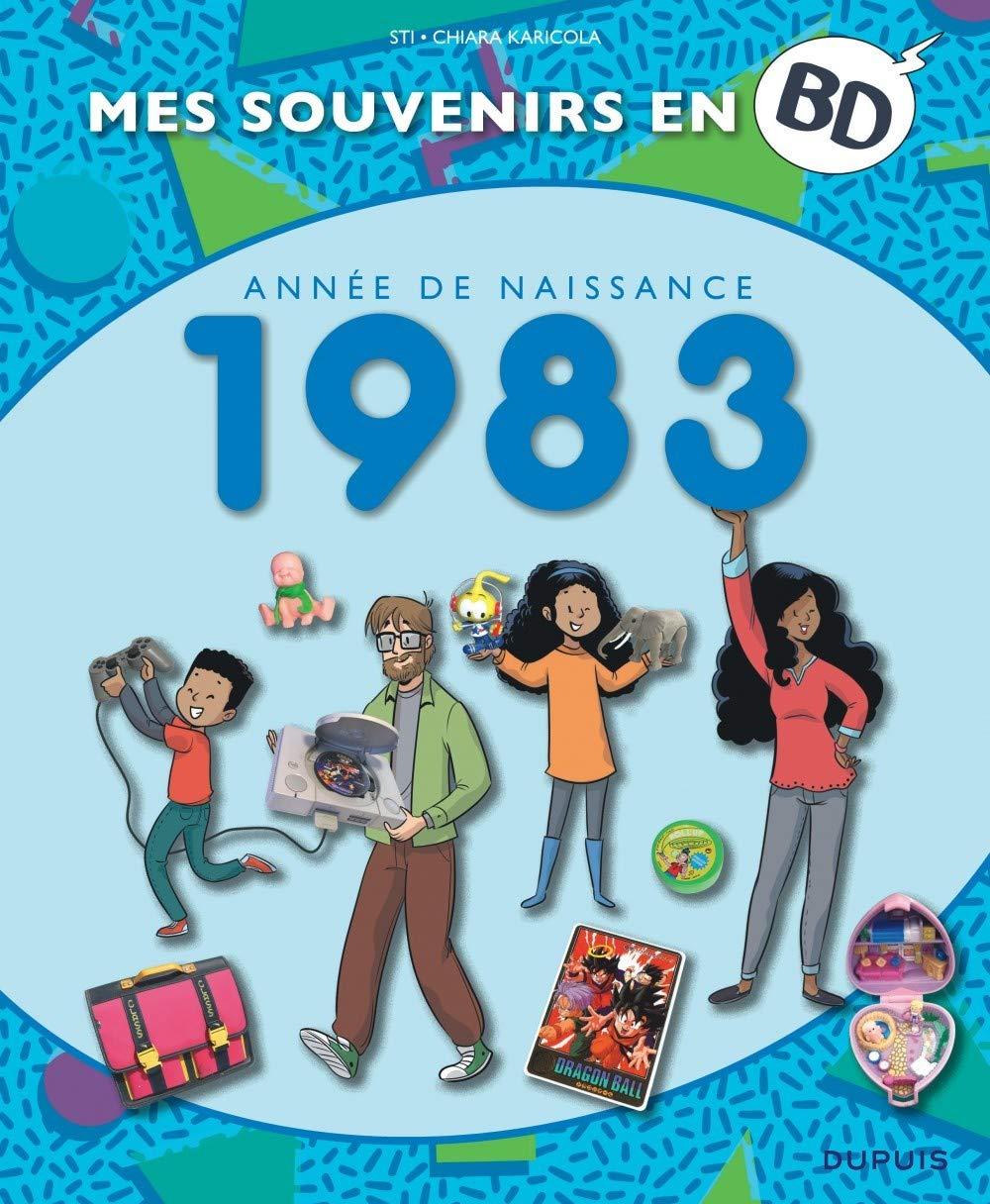 Mes souvenirs en BD 44 - Année de naissance 1983