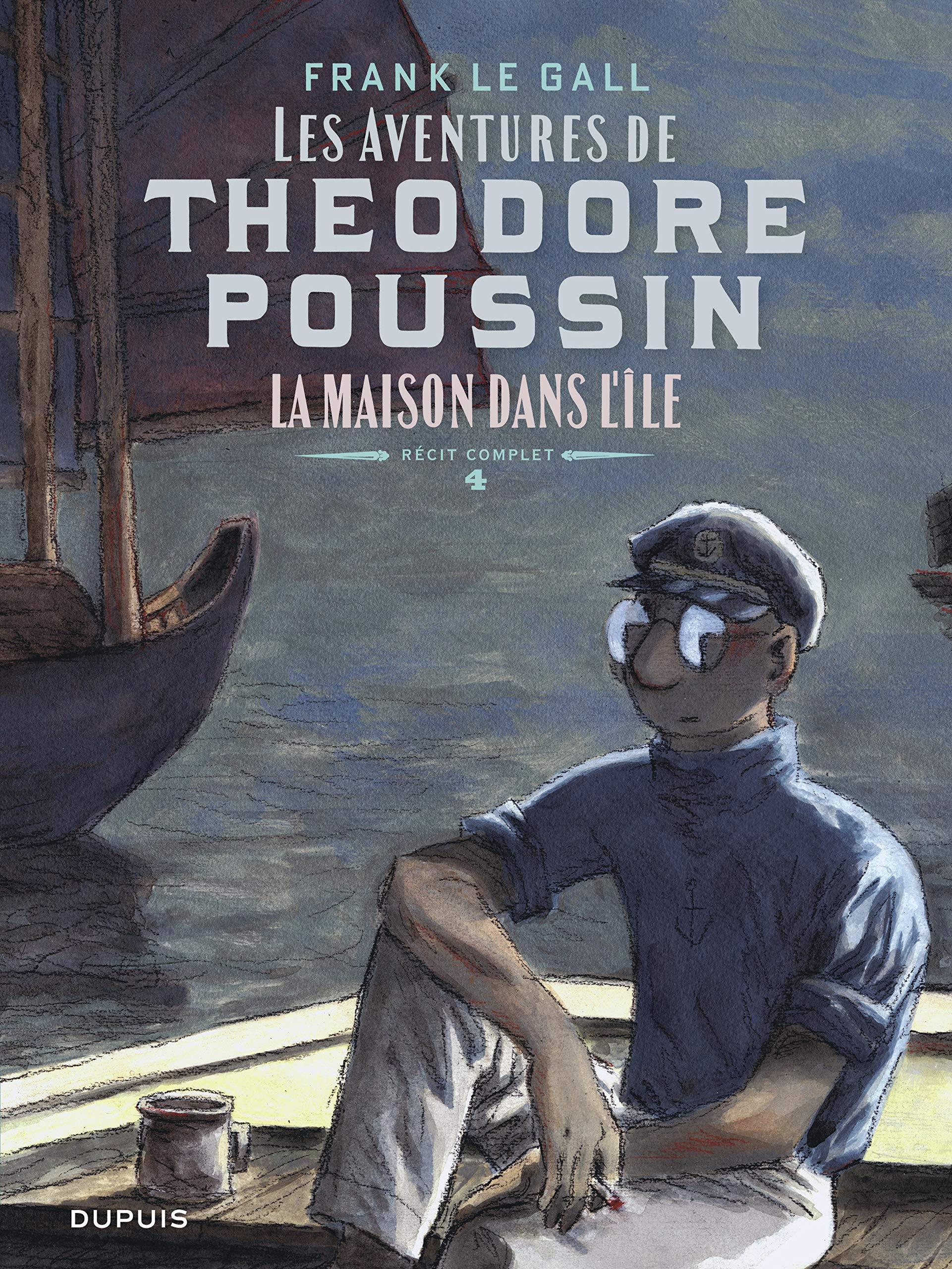 Théodore Poussin 4 - La maison dans l'île