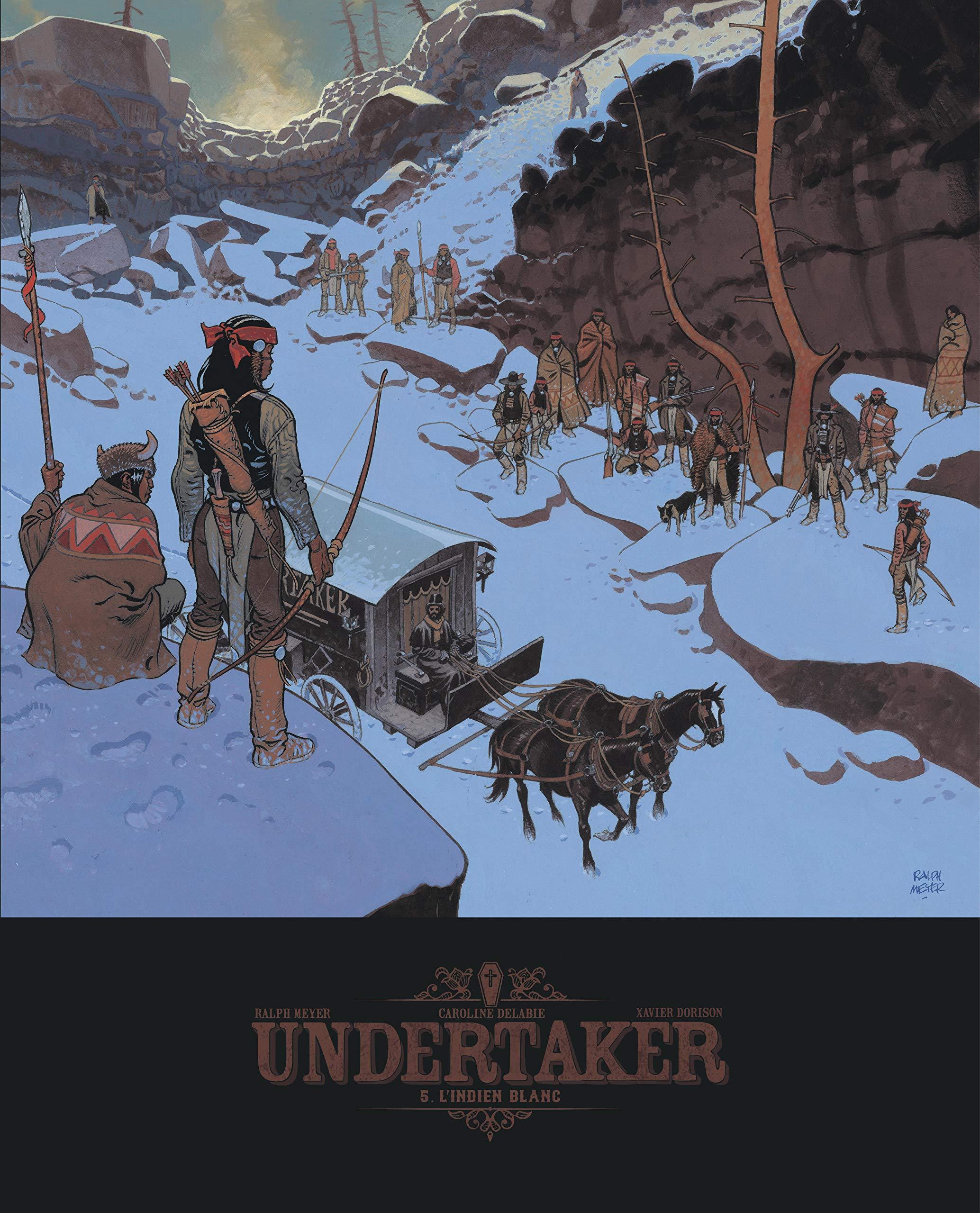Undertaker 5 - L'indien blanc