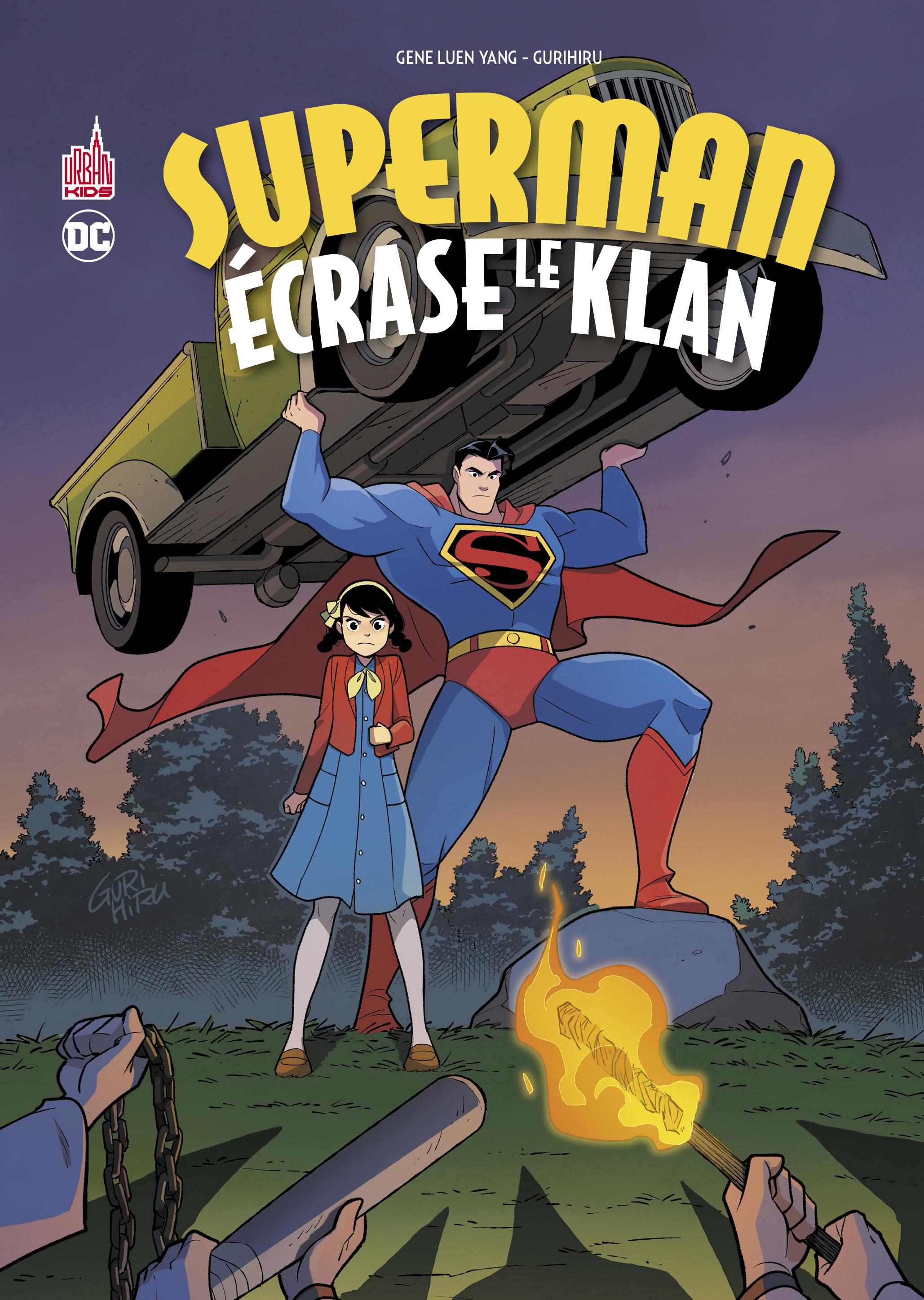 Superman écrase le klan 1