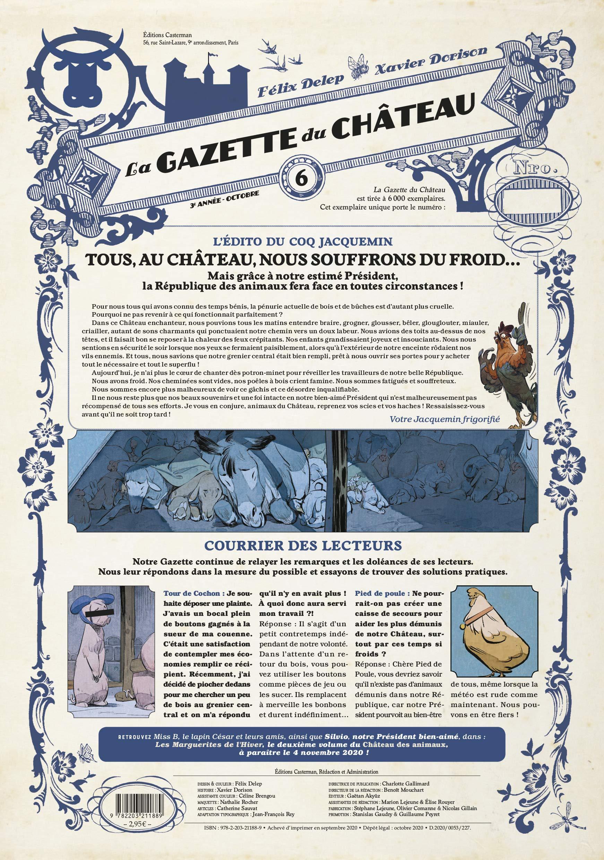 Le château des animaux 6 - La Gazette du Château - Les Marguerites de l'hiver (3/3)