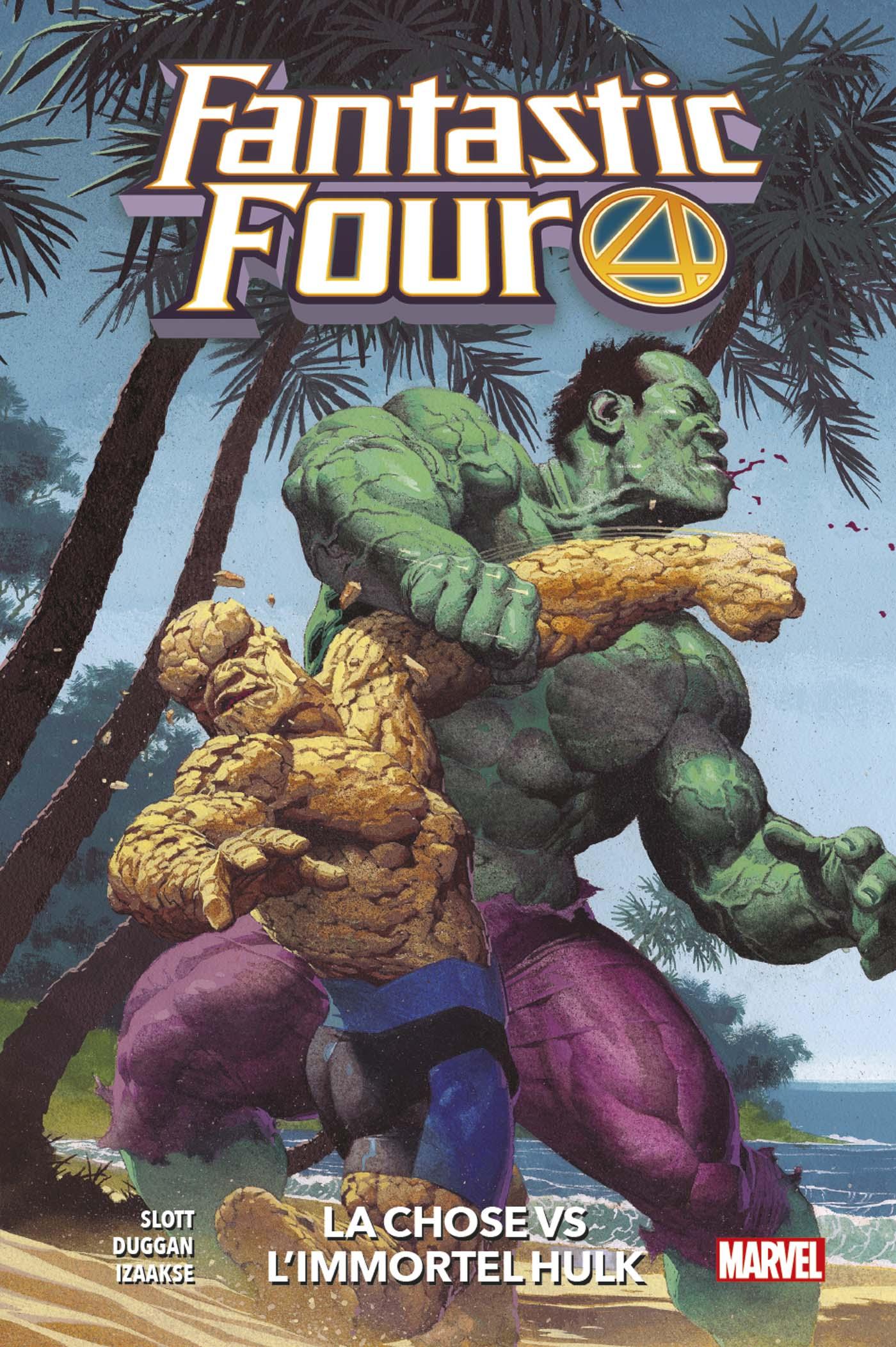 Fantastic Four 4 - La Chose Vs L'immortel Hulk