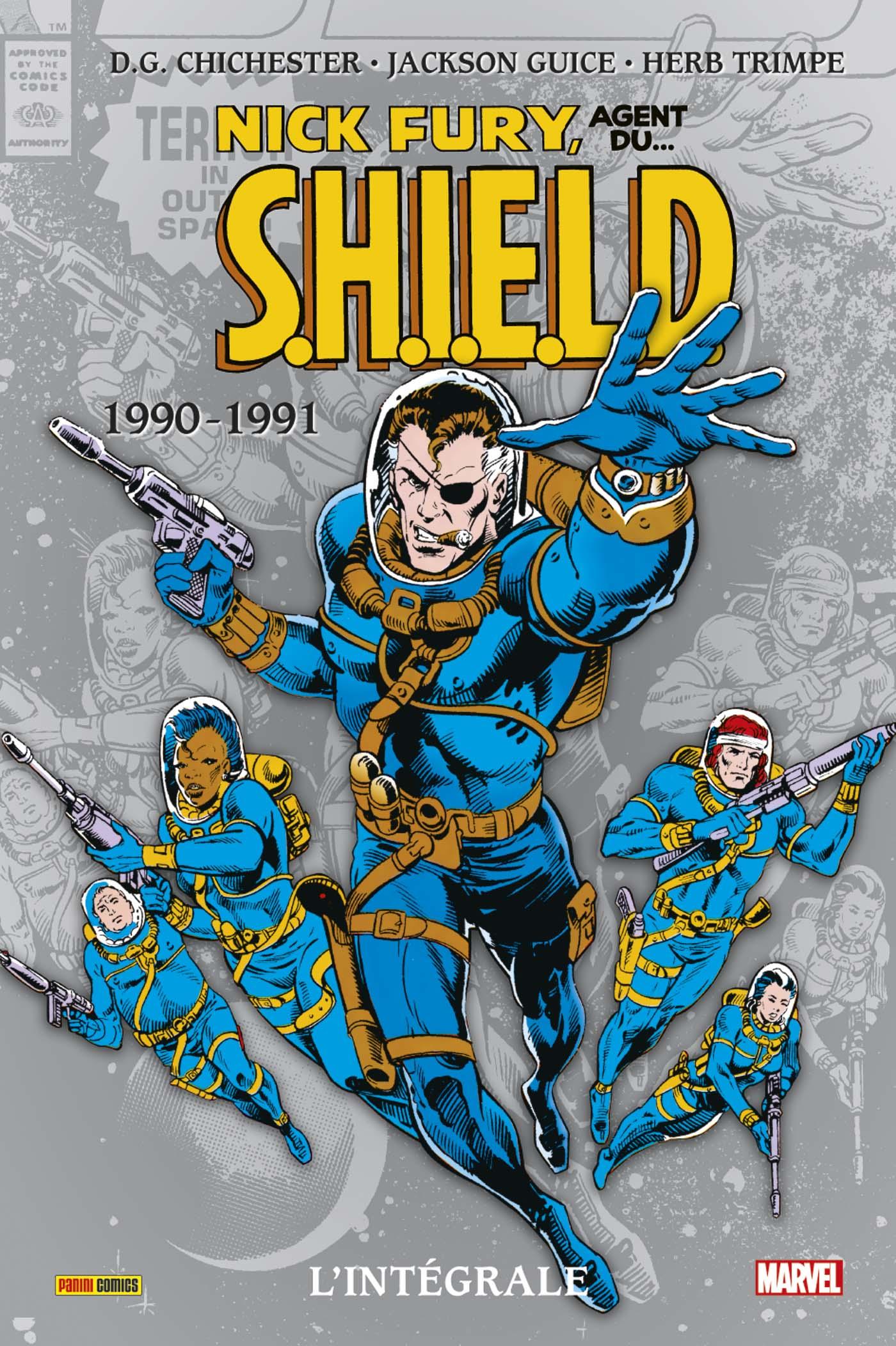 Nick Fury 1990 - 1990-1991