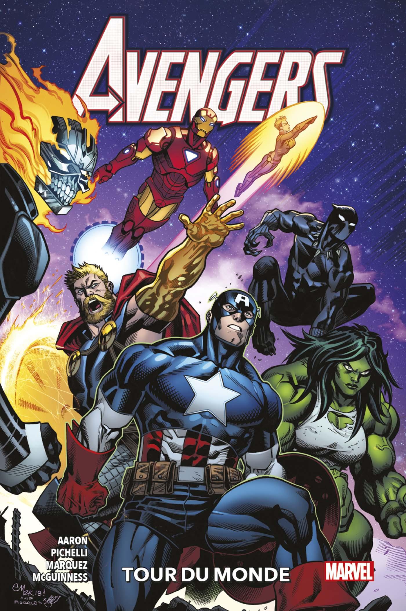 Avengers 2 - Tour du monde