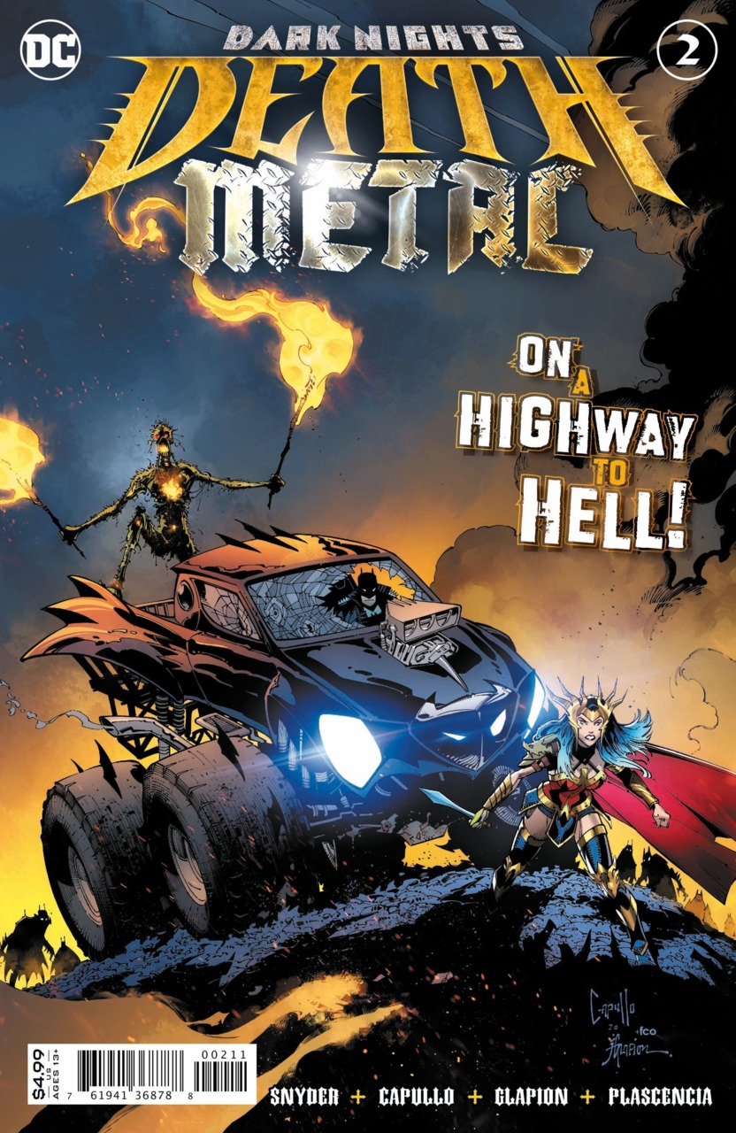Dark Nights - Death Metal 2 - On a highway to hell
