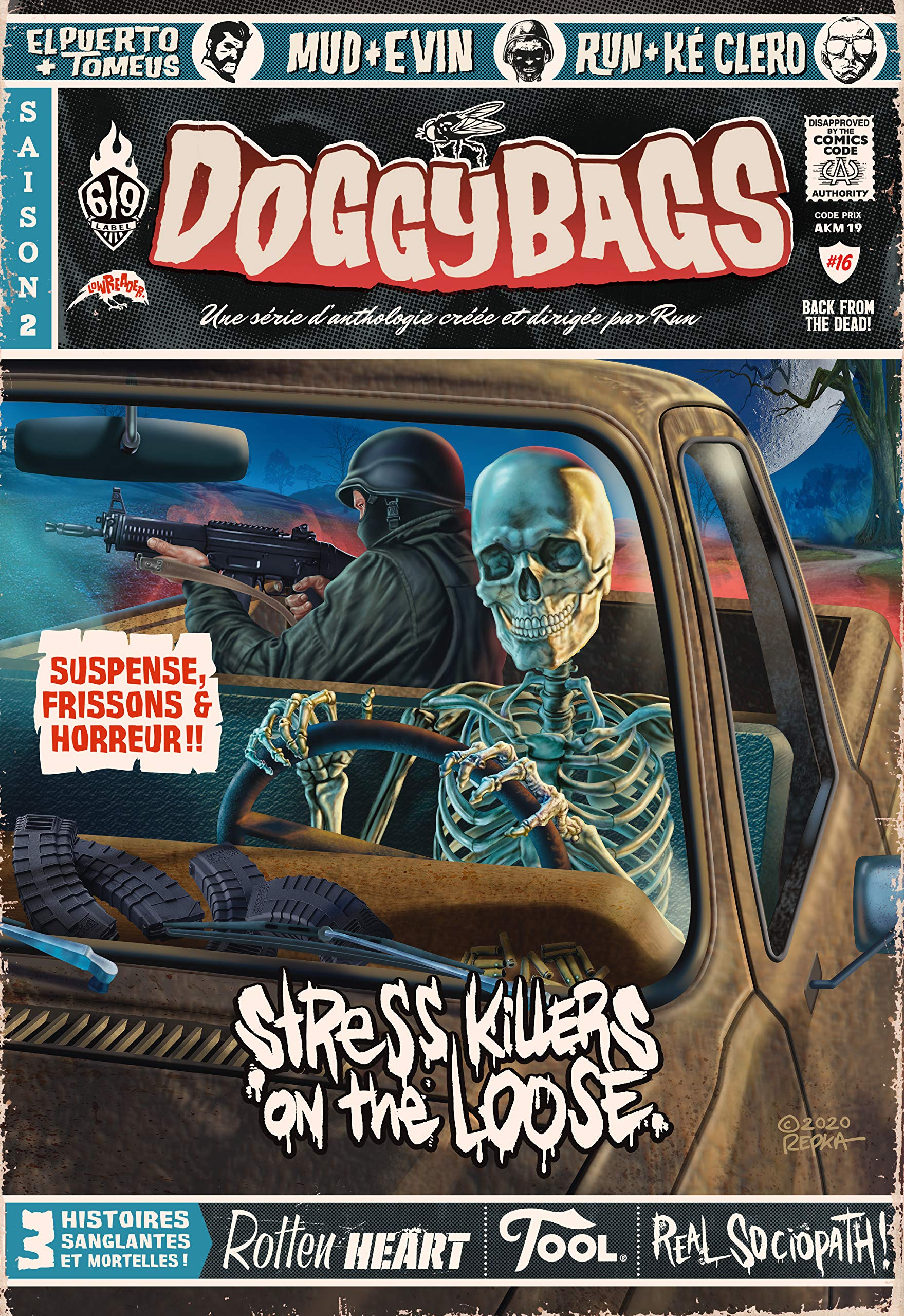 Doggybags 16 - Stress Killers on the Loose