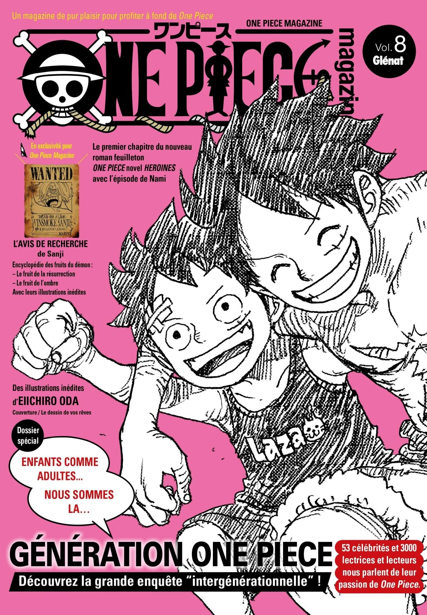 One piece magazine 8