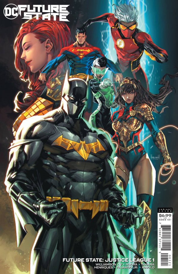 Future State: Justice League 1 - 1 - cover #2