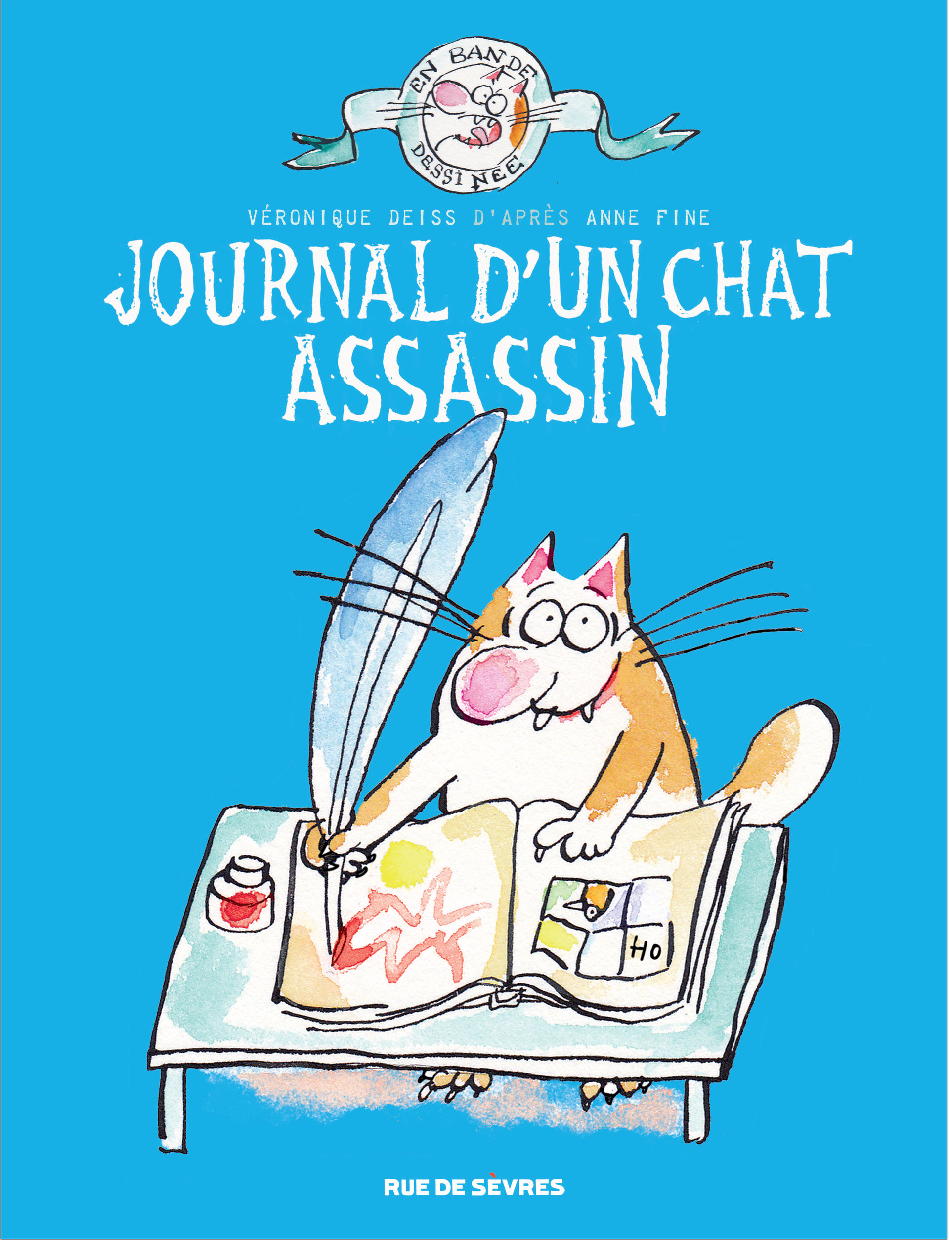 Le chat assassin 1 - Journal d'un chat assassin