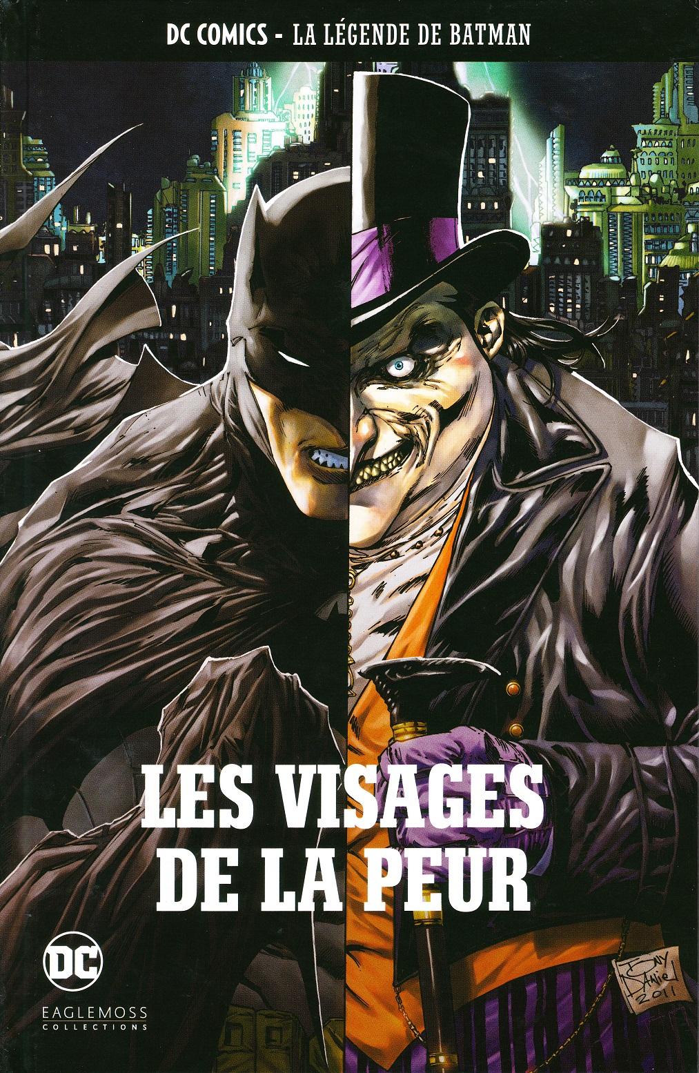 DC Comics - La Légende de Batman 58 - Les Visages de la peur