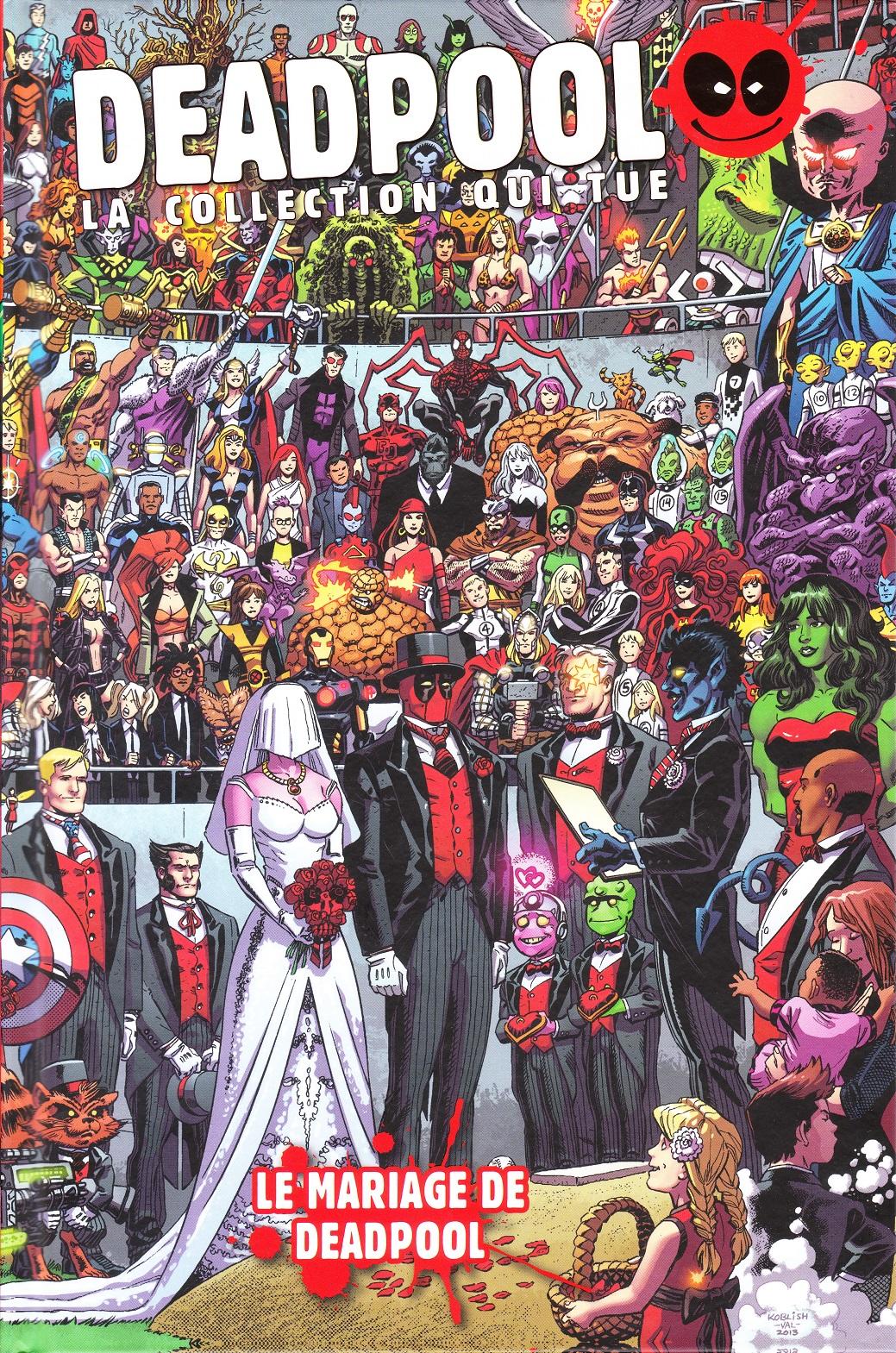 Deadpool - La Collection qui Tue ! 76 - Le Mariage de Deadpool