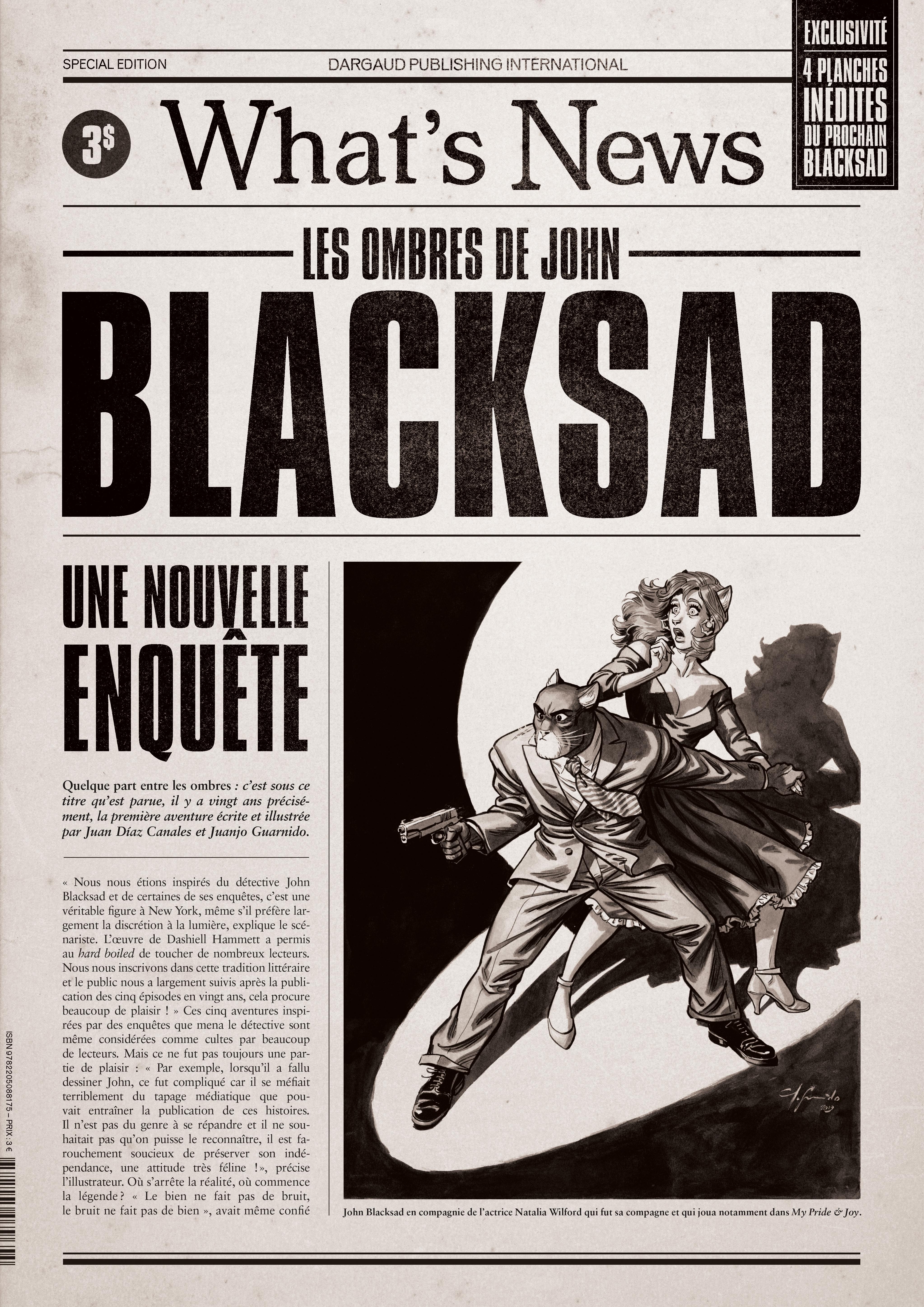 Blacksad 1 - What's News