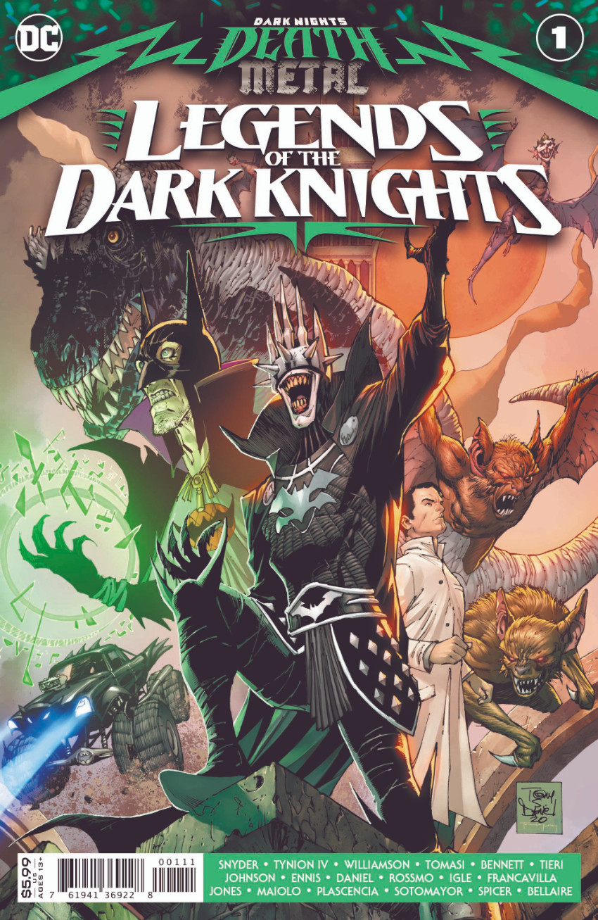 Dark Nights - Death Metal Legends of the Dark Knights 1