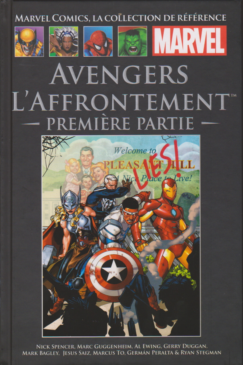 Marvel Comics, la Collection de Référence 129 - Avengers – L'affrontement – Première partie