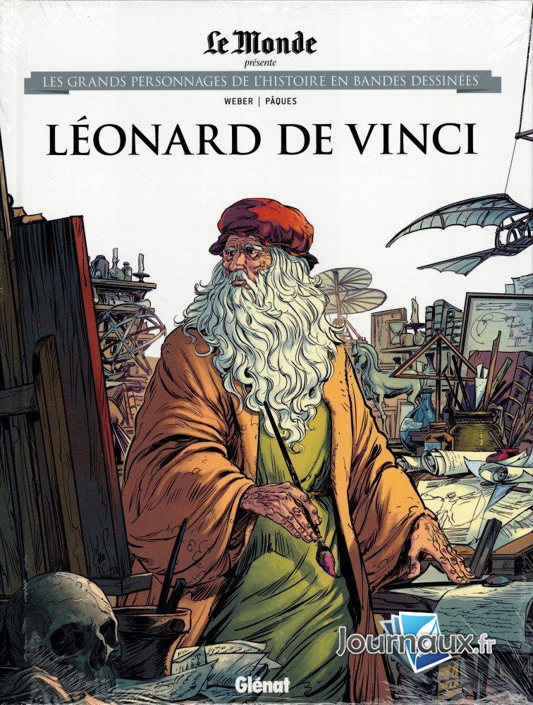 Les grands personnages de l'histoire en bandes dessinées 48 - Léonard de vinci