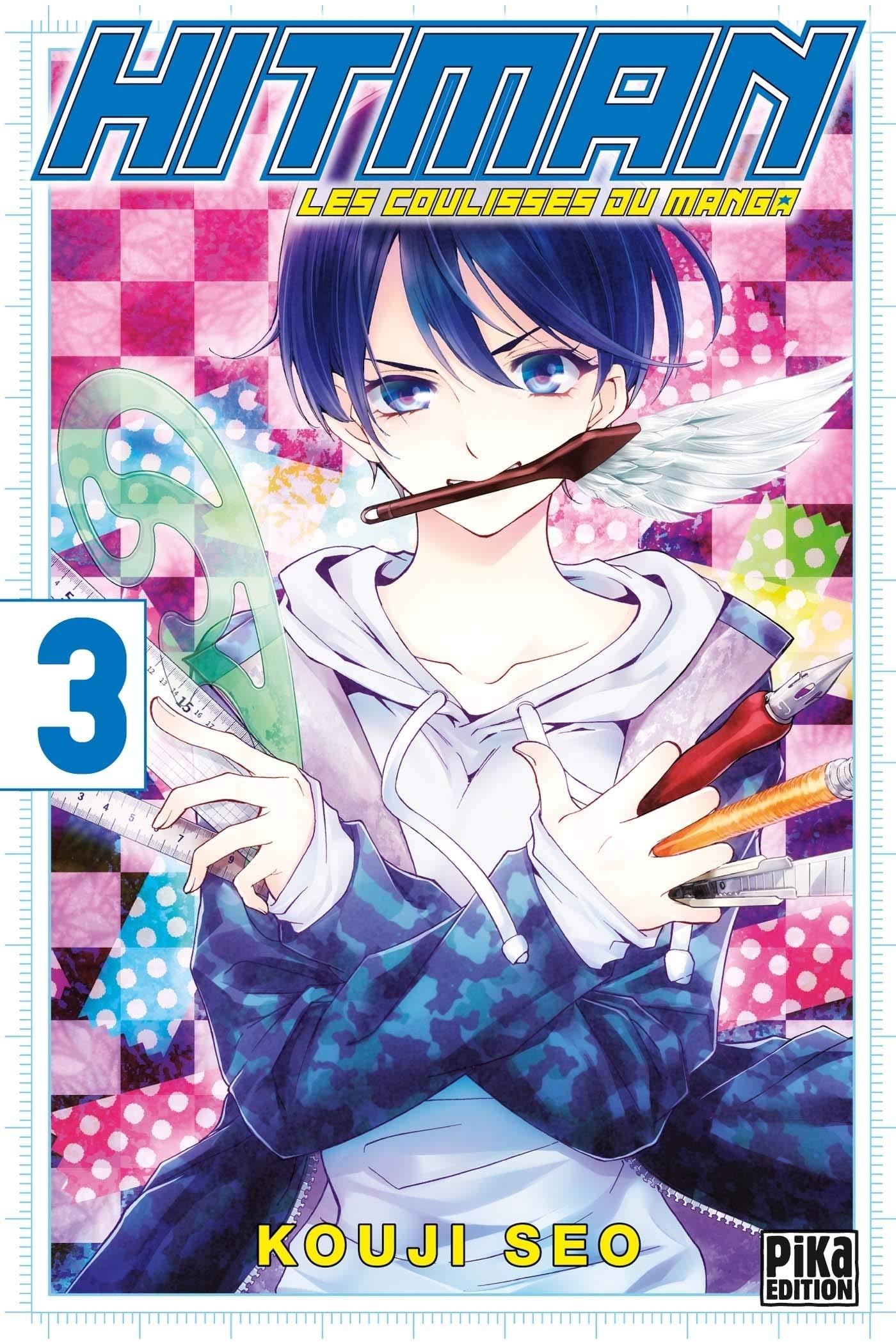 Hitman, Les coulisses du manga 3