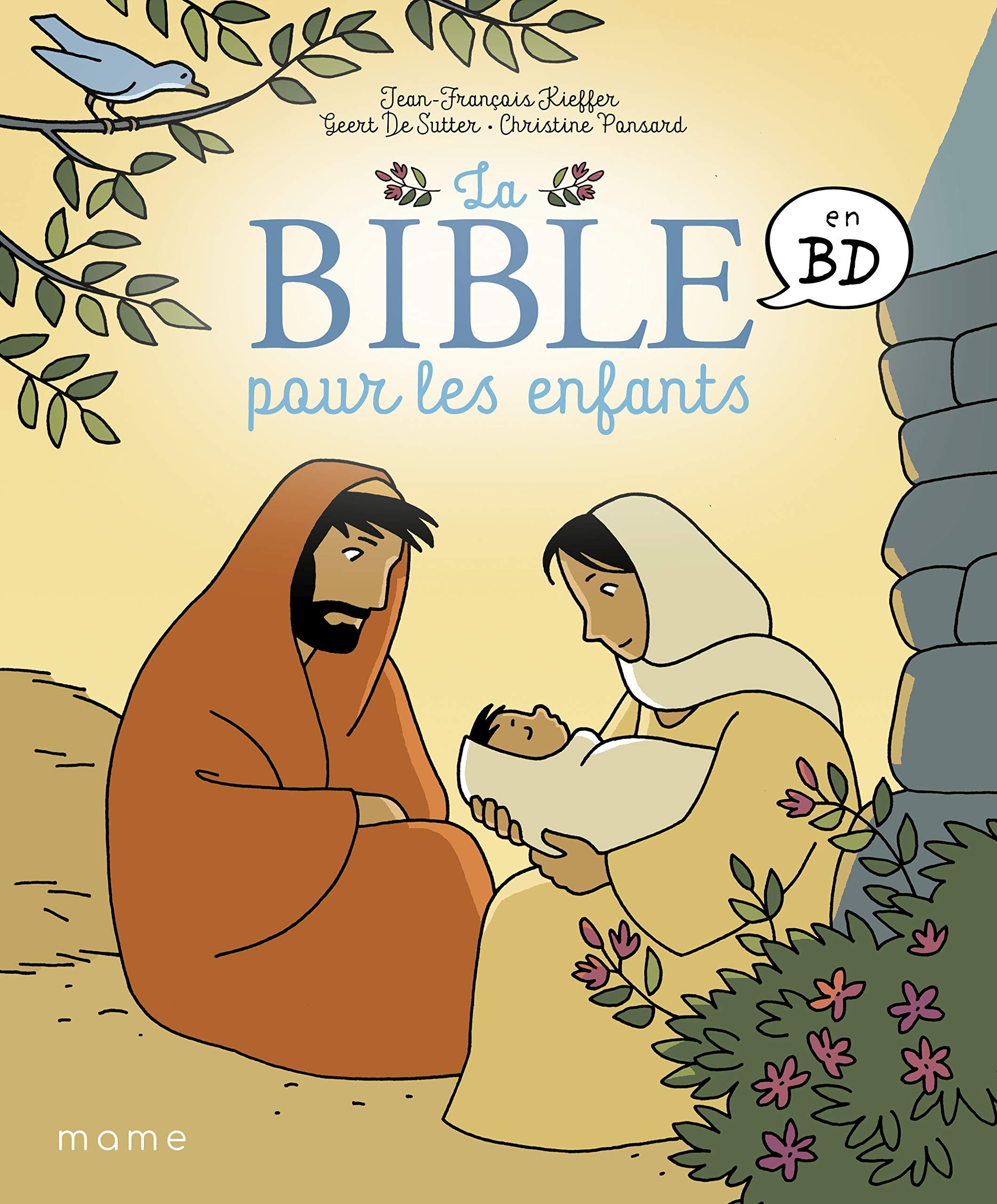 La bible pour les enfants en BD 1