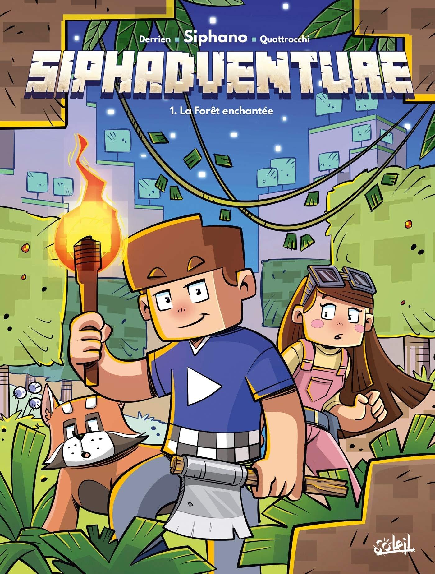 Siphadventure 1 - La forêt des pandas